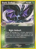 Dark Golbat from ex Team Rocket Returns