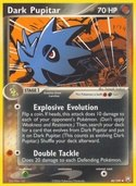 Dark Pupitar from ex Team Rocket Returns