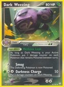 Dark Weezing from ex Team Rocket Returns