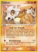 Cubone from ex Team Rocket Returns