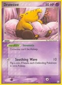 Drowzee from ex Team Rocket Returns