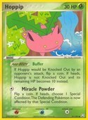 Hoppip from ex Team Rocket Returns