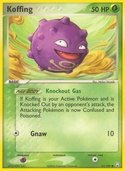 Koffing from ex Team Rocket Returns