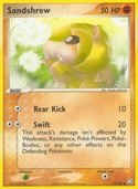 Sandshrew from ex Team Rocket Returns