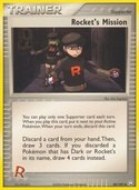 Rocket's Mission from ex Team Rocket Returns