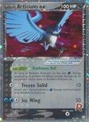 Rocket's Articuno ex from ex Team Rocket Returns