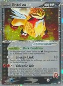 Rocket's Entei ex from ex Team Rocket Returns