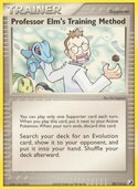 Professor Elm's Training Method from ex Unseen Forces