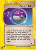 Master Ball from Expedition