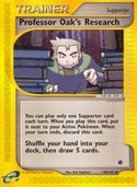 Professor Oak's Research from Expedition