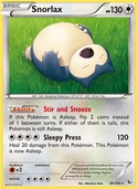 Snorlax from Flashfire
