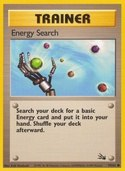 Energy Search from Fossil
