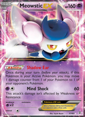Meowstic-EX from Generations