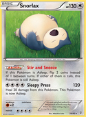 Snorlax from Generations