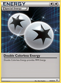Double Colorless Energy from Generations