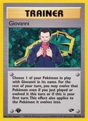 Giovanni from Gym Challenge