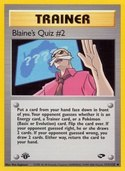 Blaine's Quiz #2 from Gym Challenge