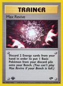 Max Revive from Gym Challenge