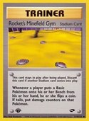 Rocket's Minefield Gym from Gym Challenge