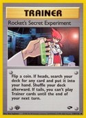 Rocket's Secret Experiment from Gym Challenge
