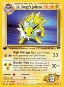Lt. Surge's Jolteon from Gym Challenge