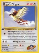 Koga's Pidgey from Gym Challenge