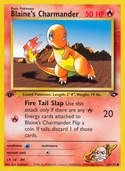 Blaine's Charmander from Gym Challenge