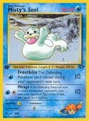 Misty's Seel from Gym Challenge