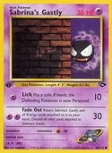 Sabrina's Gastly from Gym Challenge