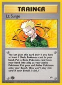 Lt. Surge from Gym Heroes