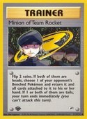 Minion of Team Rocket from Gym Heroes