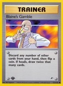 Blaine's Gamble from Gym Heroes