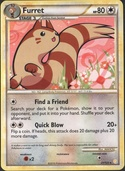 Furret from HeartGold - SoulSilver