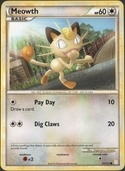 Meowth from HeartGold - SoulSilver