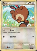 Sentret from HeartGold - SoulSilver