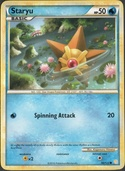 Staryu from HeartGold - SoulSilver