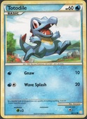 Totodile from HeartGold - SoulSilver