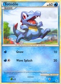 Totodile from HGSS Trainer Kit