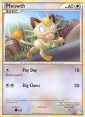 Meowth from HGSS Trainer Kit