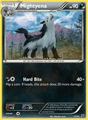 Mightyena from Kalos Starter