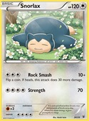 Snorlax from Kalos Starter