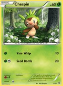 Chespin from Kalos Starter