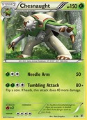 Chesnaught from Kalos Starter