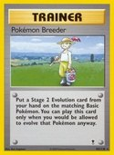 Pokémon Breeder from Legendary Collection