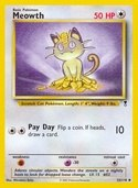 Meowth from Legendary Collection