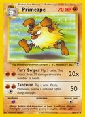 Primeape from Legendary Collection