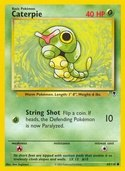 Caterpie from Legendary Collection