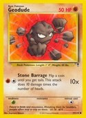 Geodude from Legendary Collection