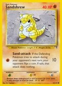 Sandshrew from Legendary Collection