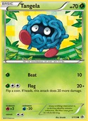 Tangela from Legendary Treasures